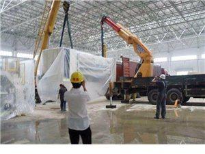 郑州航空港区叉车吊车出租装车卸货设备仪器吊装上楼