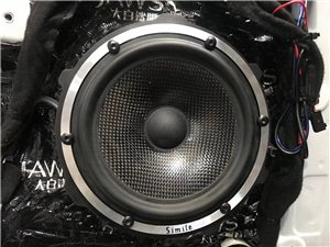 南康專業汽車音響改裝店 標志408汽車音響改裝