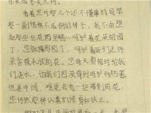 """2019""""外国语杯""""杞县学生作文大赛-006李言雨"""