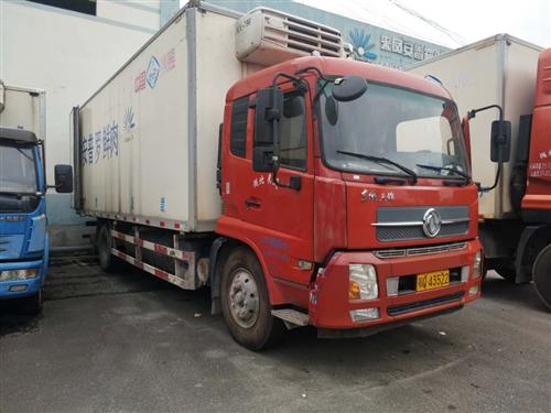 出售一辆东风天锦7.8米货柜冷冻车,价格11万,有需要的可以联系。