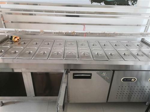 出售麻辣烫冷藏柜一台,8成新    15114776755