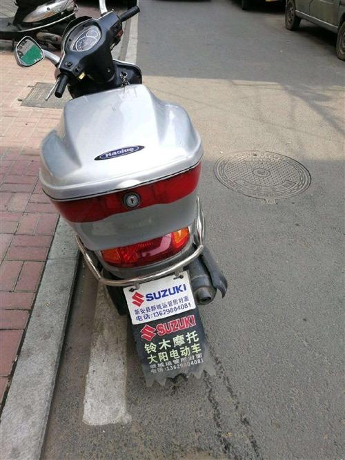出售原厂豪爵铃木踏板,无事故,按时保养,9成新,2300元不讲价。