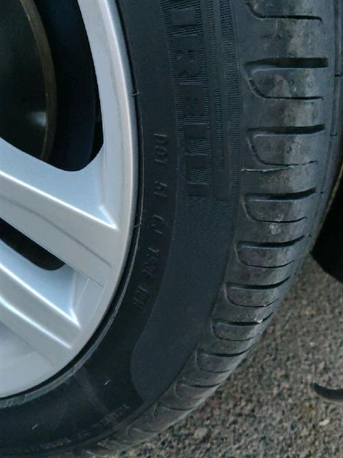 倍耐力225/45/17輪胎閑置下來,特價出售,18年10周的,幾乎0磨損