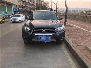 2011款豐田漢蘭達,2.7,7座豪華版