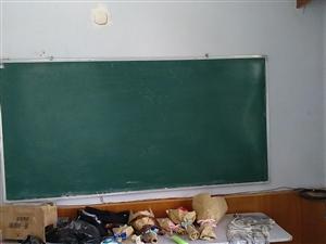 桌椅,黑板