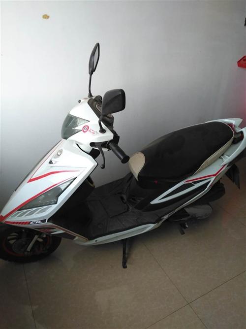 九成新踏板摩托车,因要了二胎骑不着了,超低价处理,非诚勿扰。