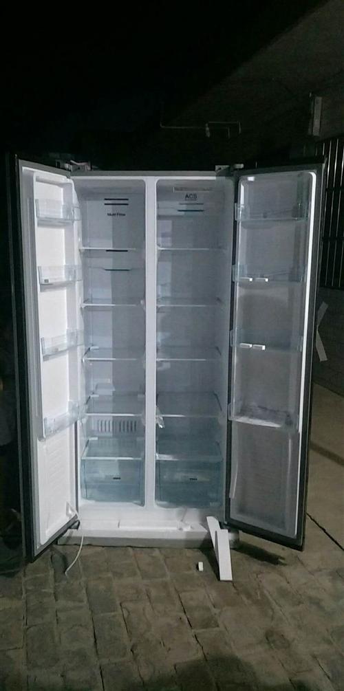康佳牌电冰箱  康佳BCD-499升风冷冰箱家用无霜冰箱对开双门式两门电脑控温节能