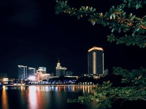 三亚河夜色