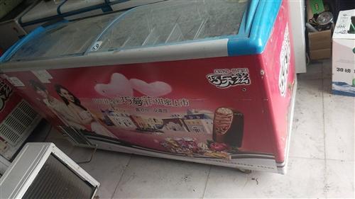 多臺二手冰柜,低價處理,功能都正常,應冰柜大小不一,標價只為最低價