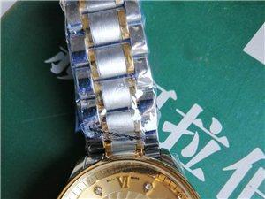 本人有一个浪琴瑞士瓦斯手表!全新的有合格证发票说明书都有呢原价9800