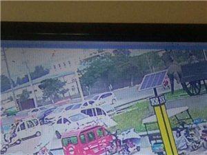 這個人昨天中午10點鐘在尚街大圓球下偷了一輛電車