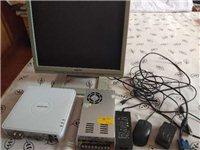 九成新监控联想显示器,海康网络硬盘录像机稳压电原。想按监控的联系我。绝对便宜。有需要的电话联系。13...