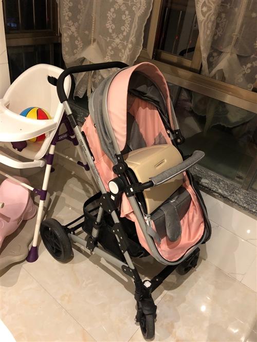 婴儿车闲置,99成新,看轮胎就知道了,现低价出,浦城县城验货自提150¥