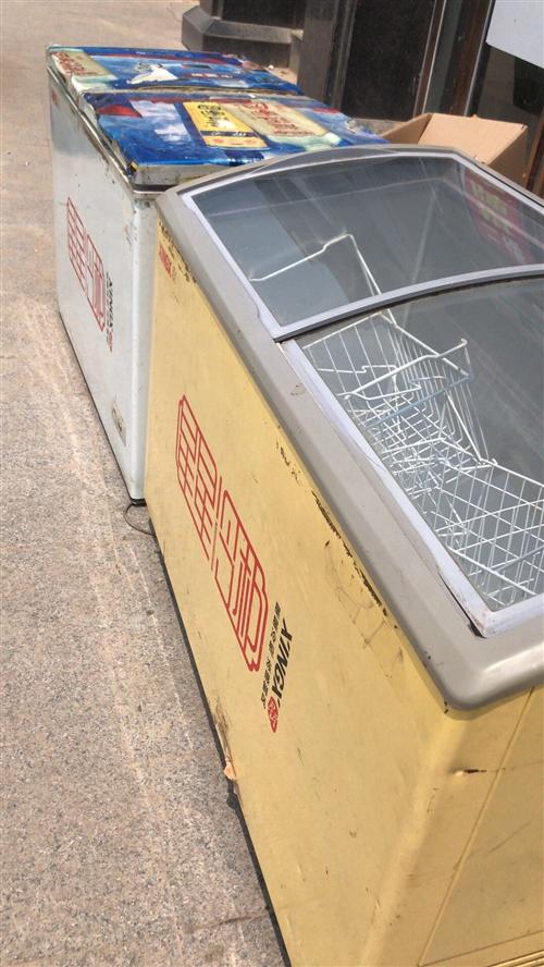 二手冰柜两台,自家用的,刚退下来,制冷效果非常好??