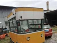 便宜出售 電動四輪餐車 七成新 雷克電車轉讓專門訂制的帶大天窗非常實用  使用一年, 里邊帶鐵板 炸...