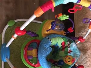 美国儿童跳跳椅,解?#20154;?#25163;神器,6个月以上宝贝可以玩
