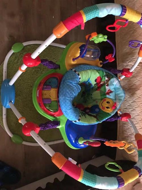 美国儿童跳跳椅,解救双手神器,6个月以上宝贝可以玩