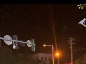 24号晚上在南洋宾馆十字路口发生车祸