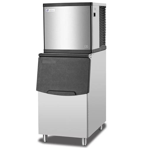 奶茶店咖啡店必备,分体式百誉制冰机,九成新