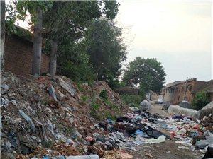这条路上的垃圾山何时清理