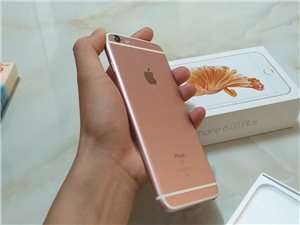 因�Q新手�C,�F出售�W生��人自用的iPhone6s plus��行,玫瑰金64G�却妫�成色新,�r格140...