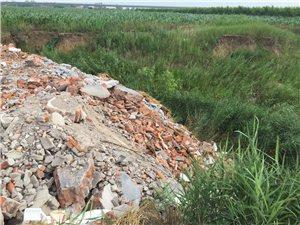 村的扶�池塘�成了垃圾�鍪钦l�@么大的�子