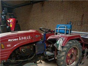 拖拉機,種麥子的和種棒子