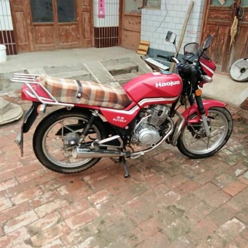 豪爵125摩托   有意聯系