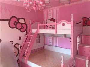 �和�上下�床,粉色,十成新,�F出售,需要的�系!