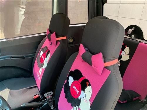 18年双十二买的金彭X5四轮电动车,95成新,车况好,自己加装的行李架和座套,因家里老人开不了闲置在...