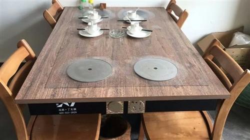 全自動無煙火鍋桌處理1000一套