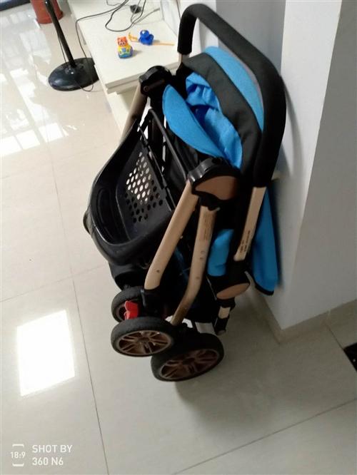 高景观婴儿手推车,八成新。