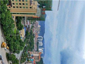 龙南县美照,爬上高楼