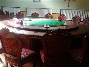 3.63.6米,标准20人桌子,转盘是钢架结构,价格面议。