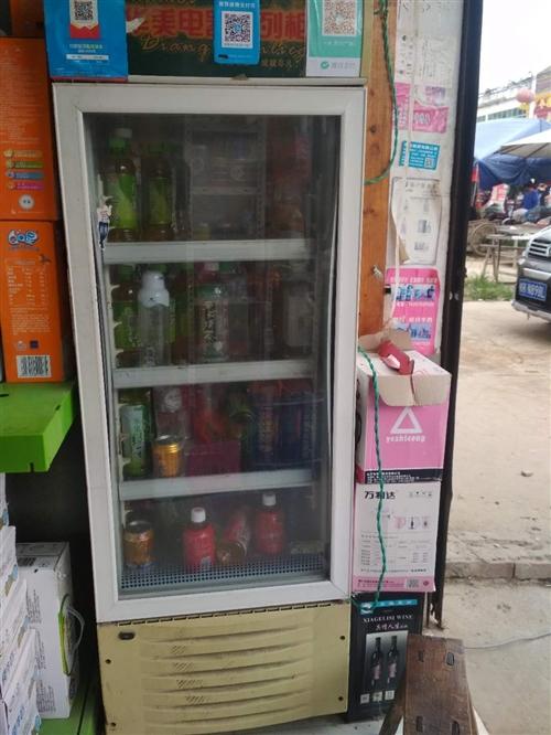 华美冷藏柜,高160,质量很好。在定庙街上有需要的可以看看。