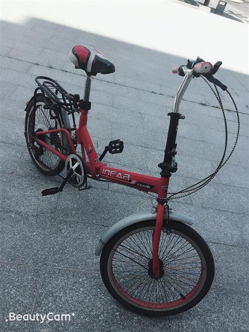 本人欲出售自行车一辆!非诚勿扰!车身完好无损,车可折叠,可变速!
