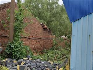 黄河四路渤海十一路大阳毛纺厂宿舍房租大面积倒塌