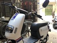 新蕾电动车,98成新有发票,很少骑跟新的一样,能骑60-70公里,五个大电池功能强大,这是海口国准上...