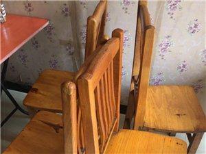 出售8成新闲置餐桌椅子