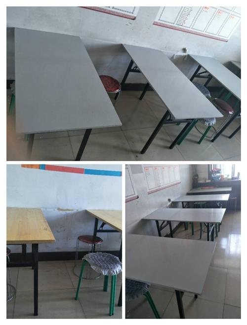急售二手培训班桌椅,九成新,结实耐用,可用来培训或者饭店