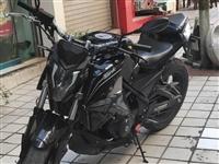 重骑牌摩托车街跑,新车一万六,办完上路一万八千多,现低价出售,手续齐全可过户,湄潭县城可看车