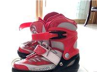 出售6岁以上宝贝溜冰鞋,9成新
