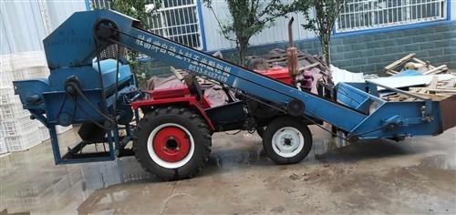 转让。洛阳28王四轮拖拉机一台,带打玉米机-台。拖拉机9.9成新,