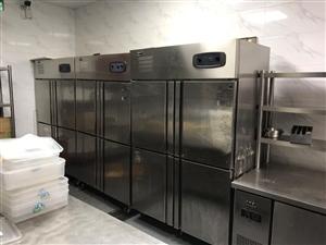餐厅厨房设备转让,冰柜,打荷台,炒炉,蒸柜,煲仔炉,烤箱,压面机,和面机,开水器,消毒柜