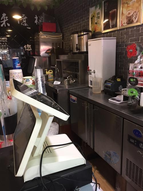 奶茶吧,成套设备出售,诚心要的联系,17858242134王女士,价格面议,花园桥。