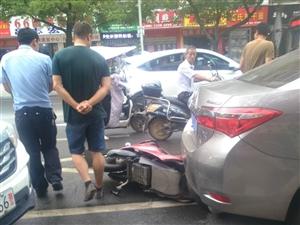 电动车与机动车碰撞