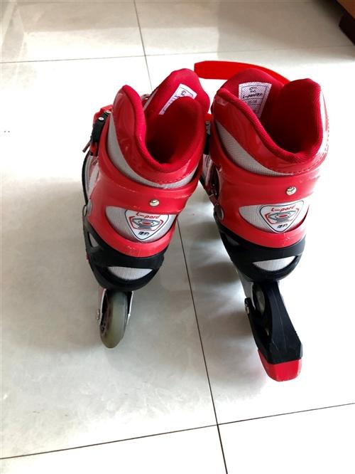 出售九成新溜冰鞋一双适合6到12岁宝贝,孩子上学没时间滑,去年在西亚258购买的就滑了几次,几乎全新...
