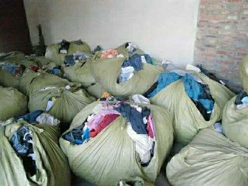 回收旧衣服15091066653