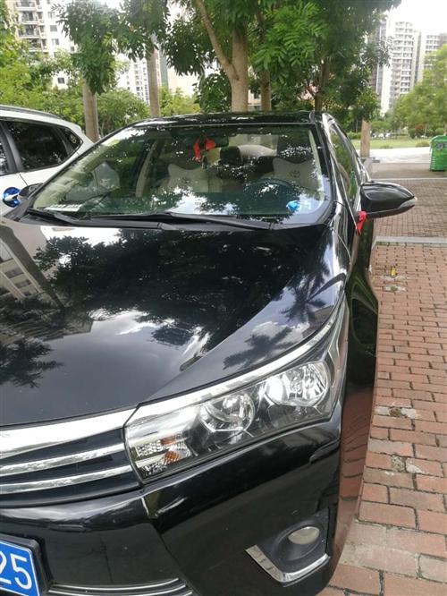 丰田卡罗拉16款