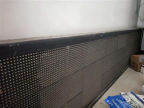 LED廣告屏,白色字,長3.5米